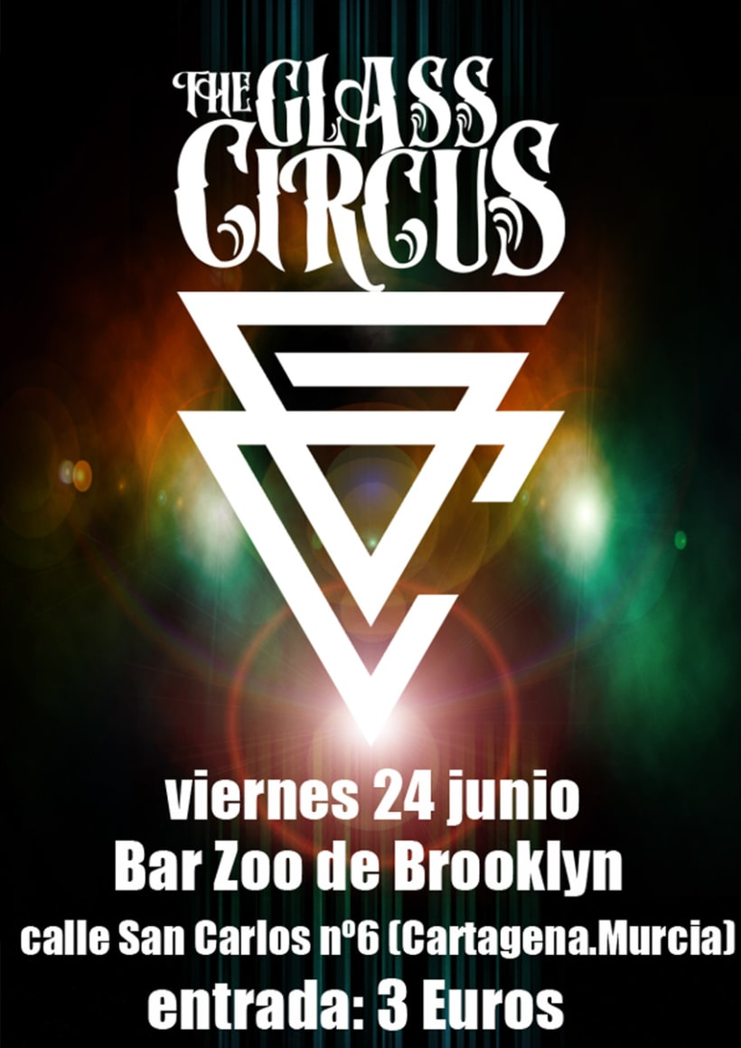 Carteleria the glass circus 2