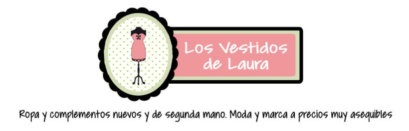 "Branding, Blog Design and Vintage Illustrations ""Los Vestidos de Laura"" 1"
