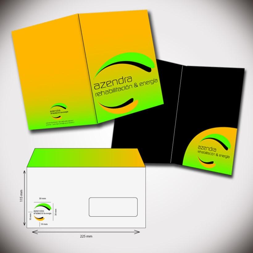 Propuesta logotipo y papelería corporativa 3