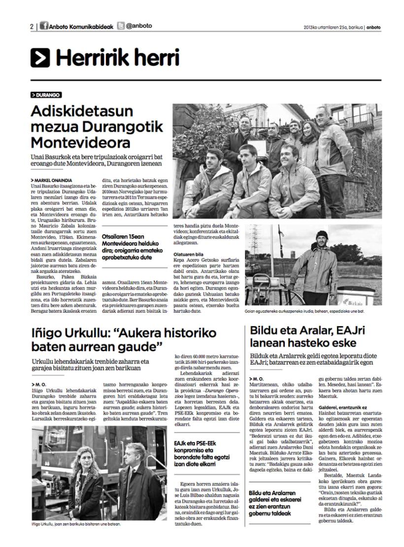 Re-diseño del periódico Anboto 2