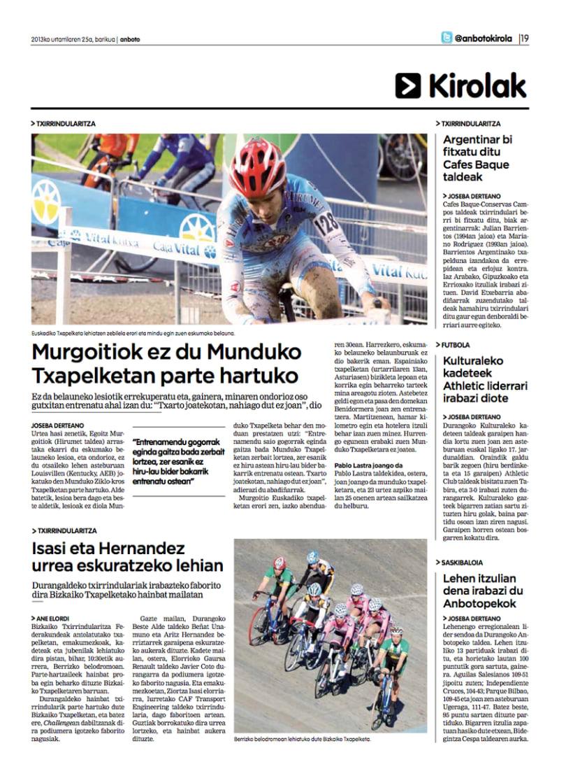 Re-diseño del periódico Anboto 11