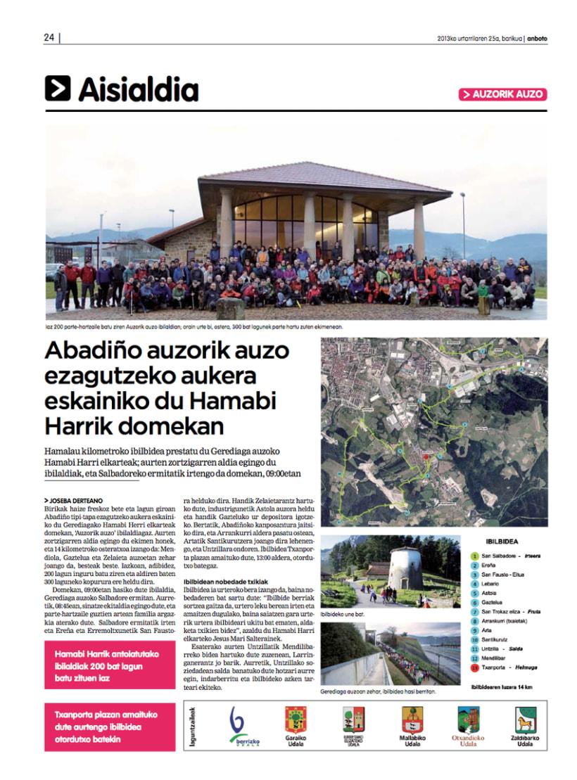 Re-diseño del periódico Anboto 9