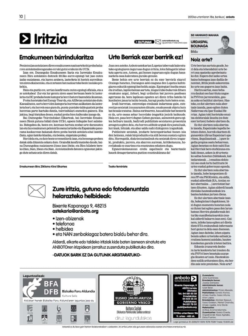Re-diseño del periódico Anboto 5