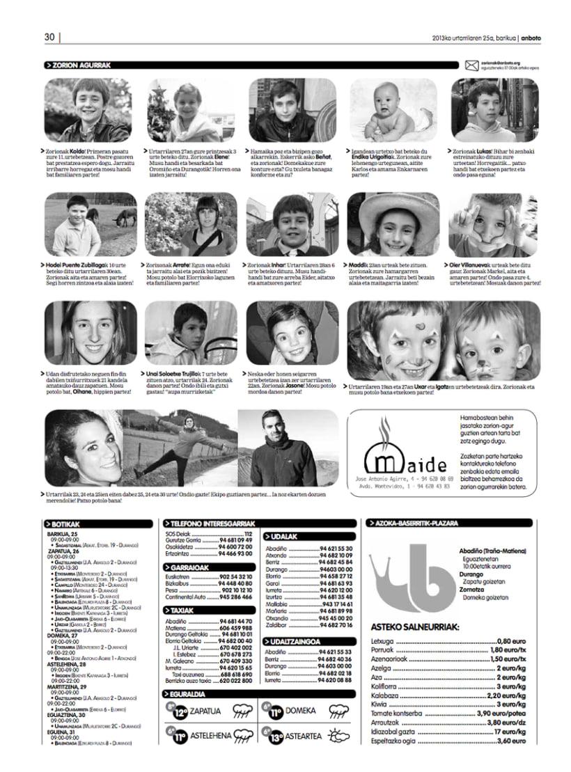 Re-diseño del periódico Anboto 8