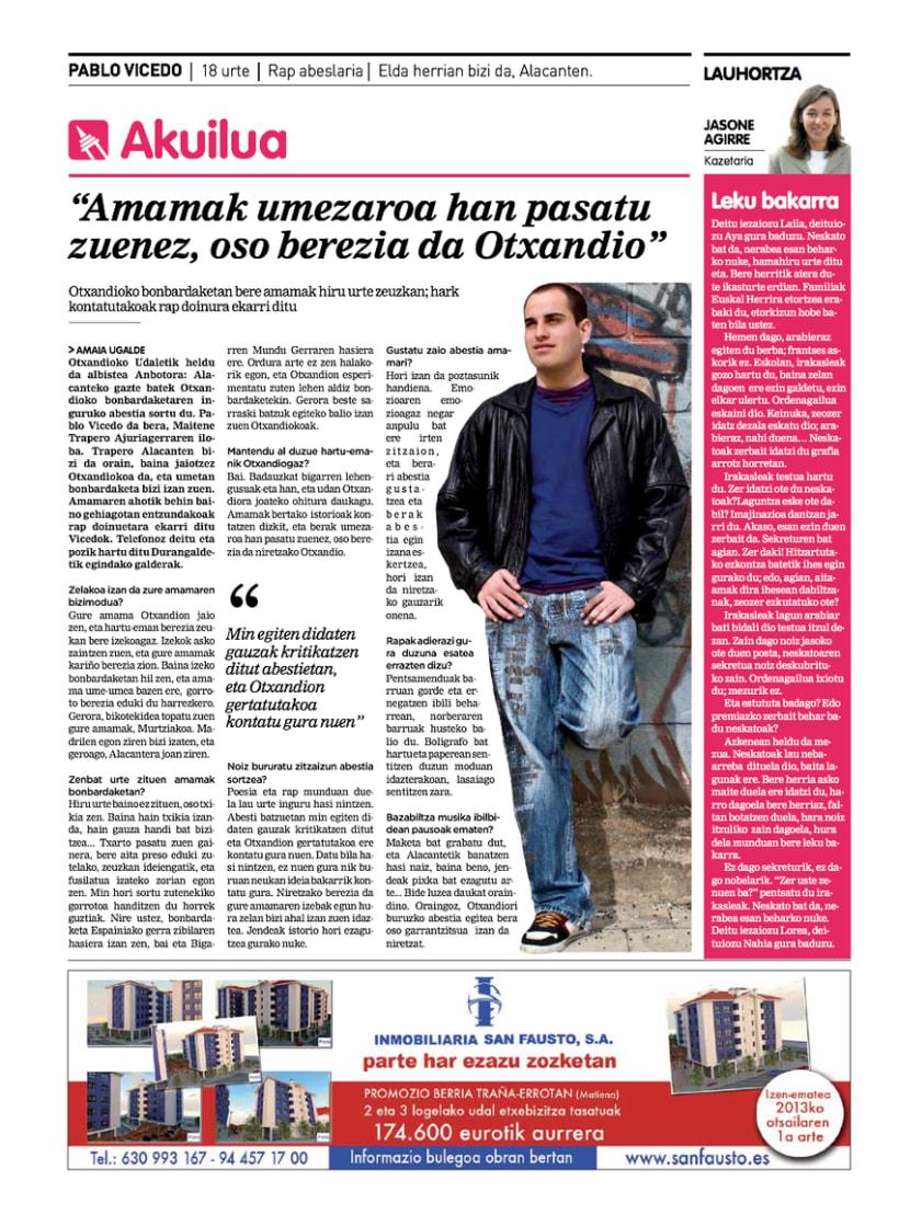 Re-diseño del periódico Anboto 13