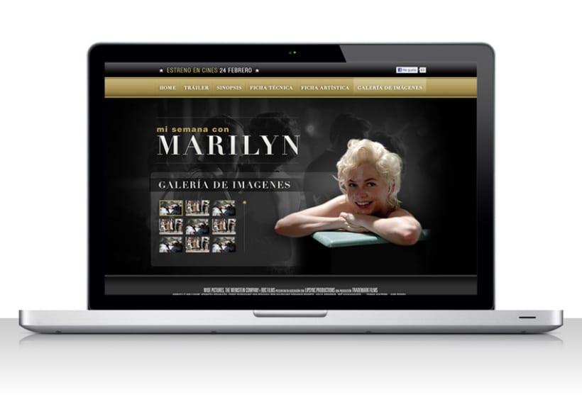 Mi semana com Marilyn 4