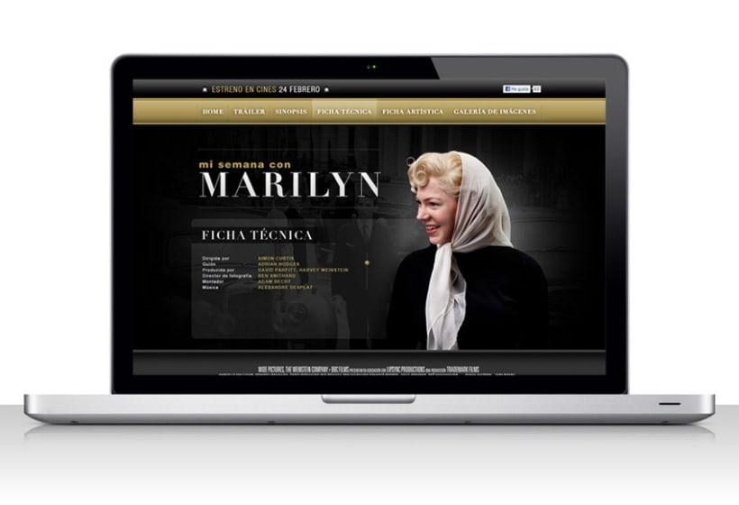 Mi semana com Marilyn 3