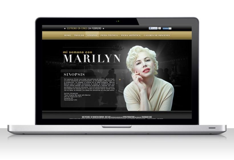 Mi semana com Marilyn 2