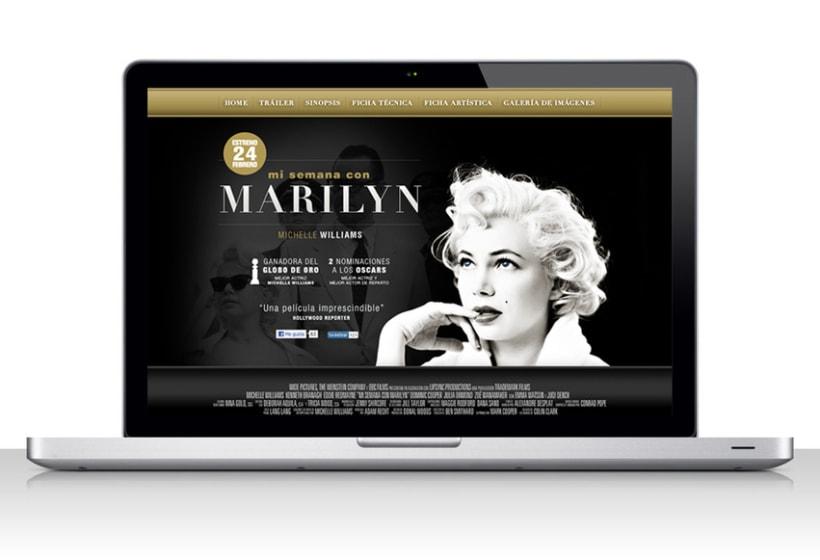 Mi semana com Marilyn 1