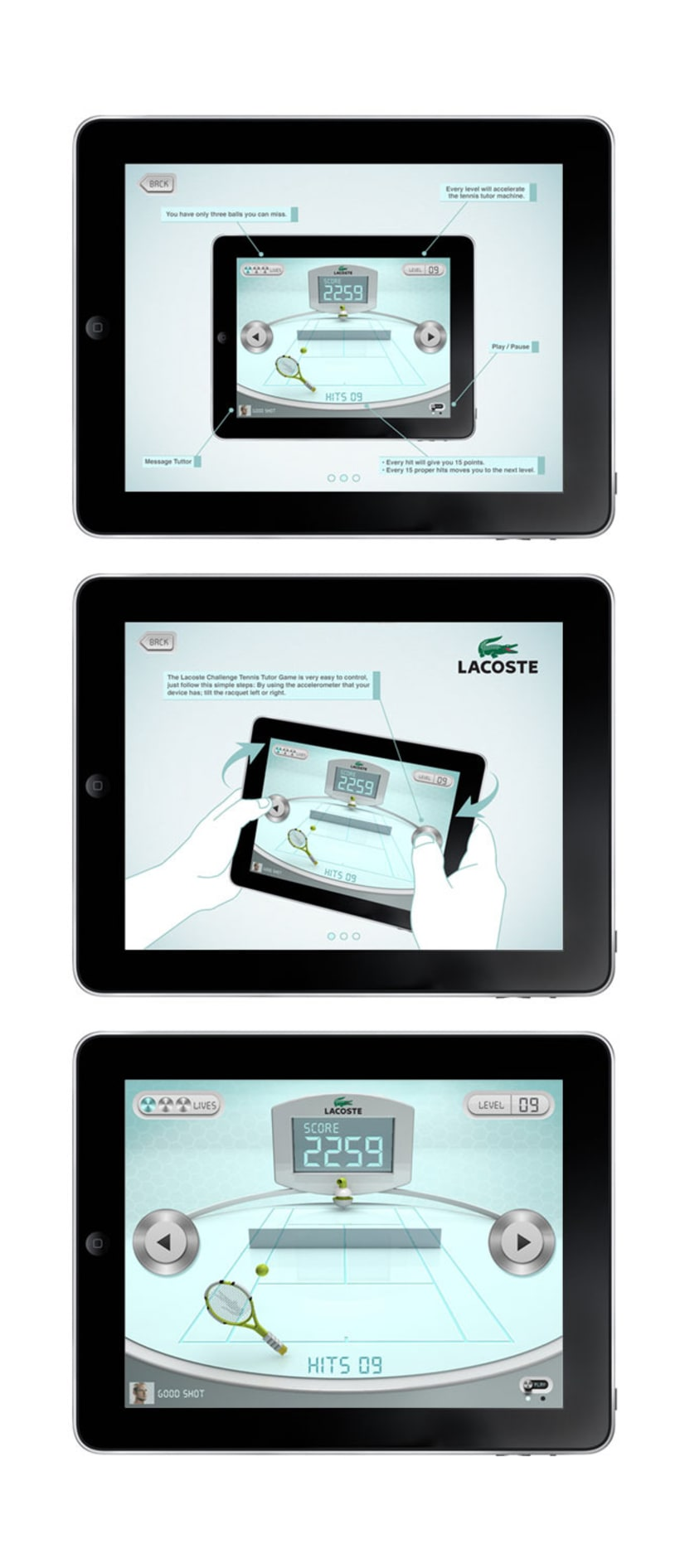 App Lacoste 4
