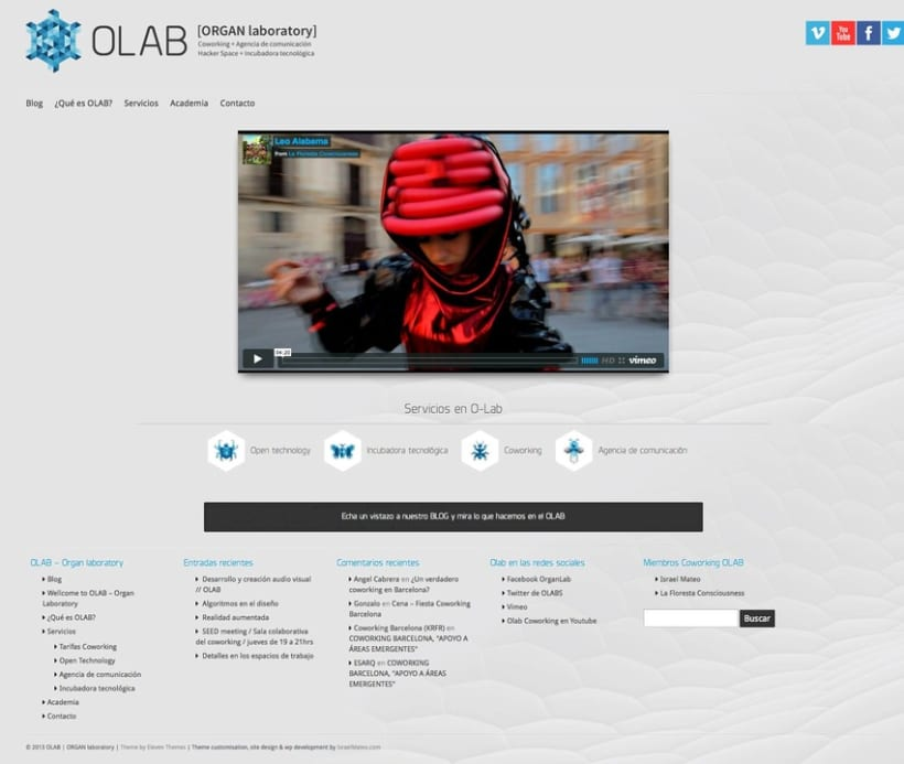 O-labs.org (Wordpress) 3