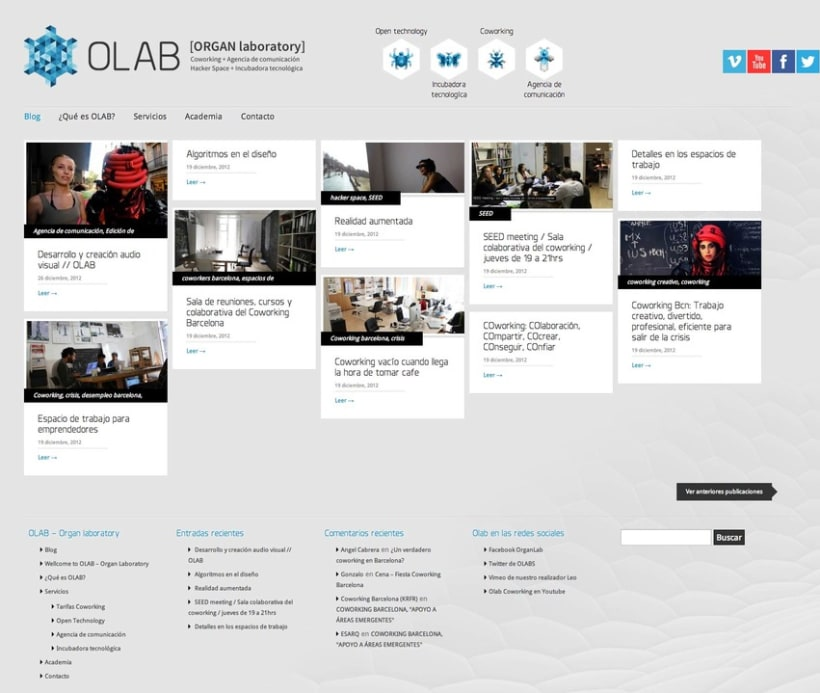 O-labs.org (Wordpress) 2