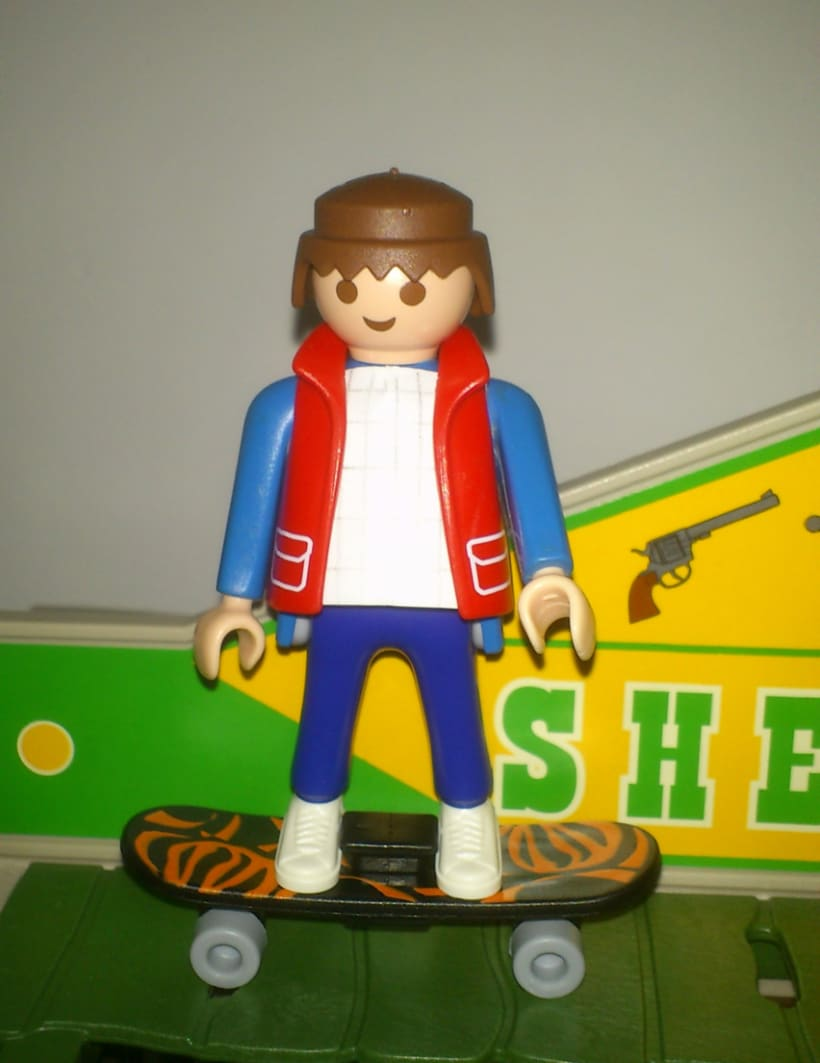 Playmobil Custom Mcfly 1