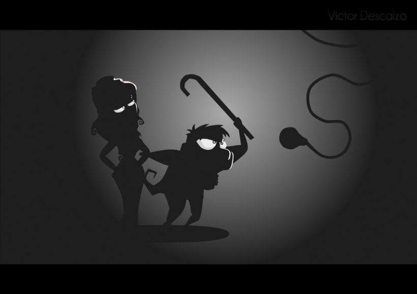 Ilustración - Trogloditas 8