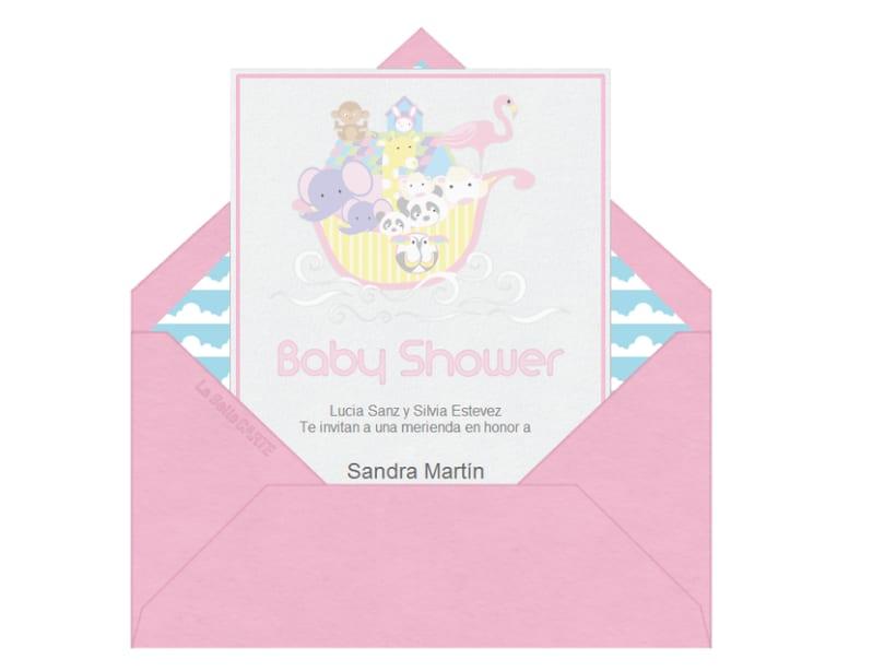 Invitaciones de Baby Shower 3