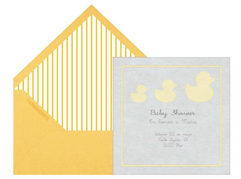 Invitaciones de Baby Shower 10