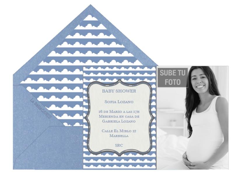 Invitaciones de Baby Shower 5