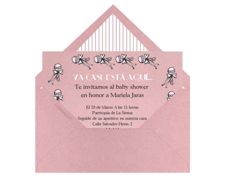 Invitaciones de Baby Shower 8
