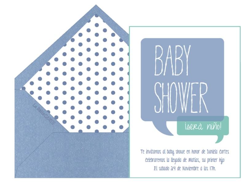 Invitaciones de Baby Shower 12