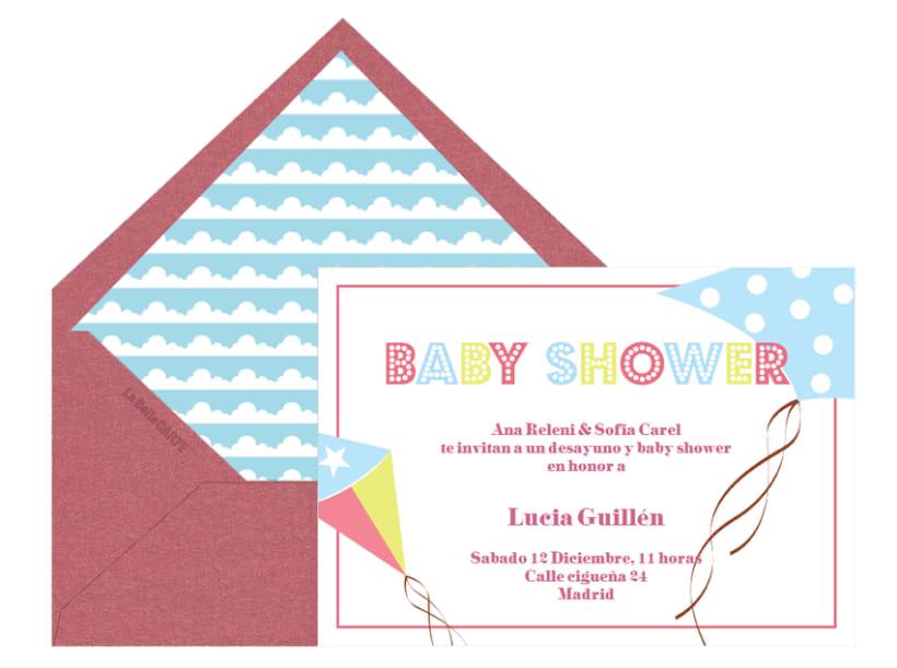 Invitaciones de Baby Shower 11