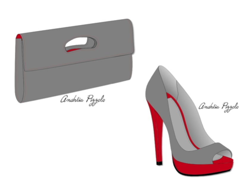 Drawings - shoes and accessories 7