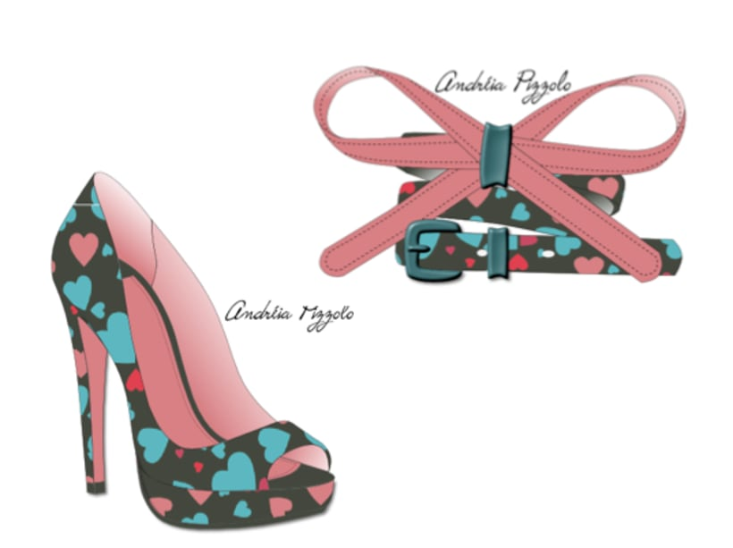 Drawings - shoes and accessories 5