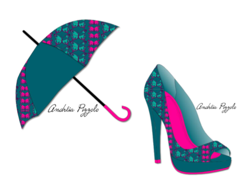 Drawings - shoes and accessories 4