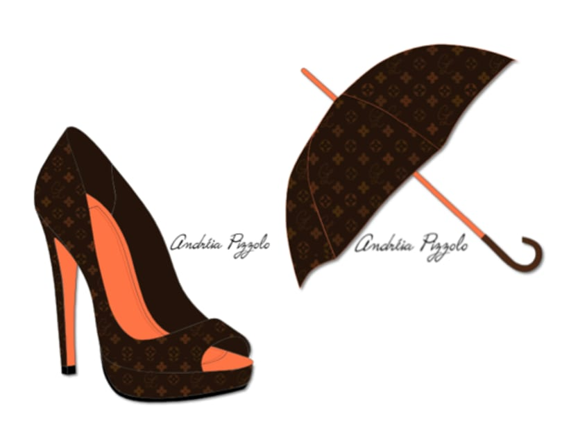 Drawings - shoes and accessories 3