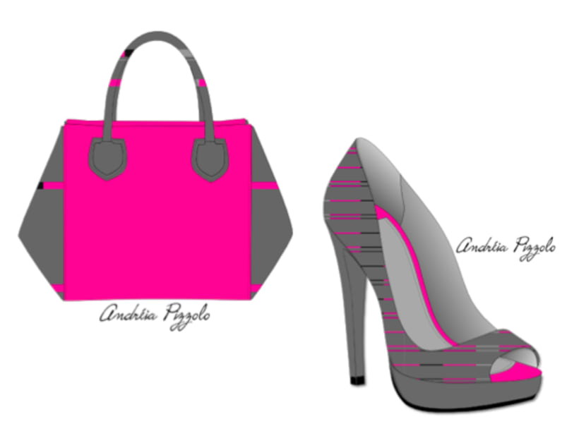 Drawings - shoes and accessories 2