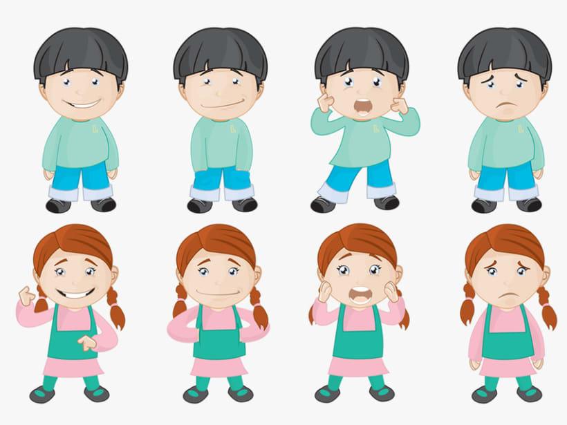 Personajes para ¡Mejor Así! 4