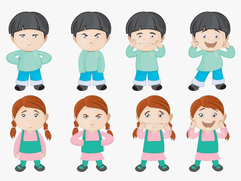 Personajes para ¡Mejor Así! 3