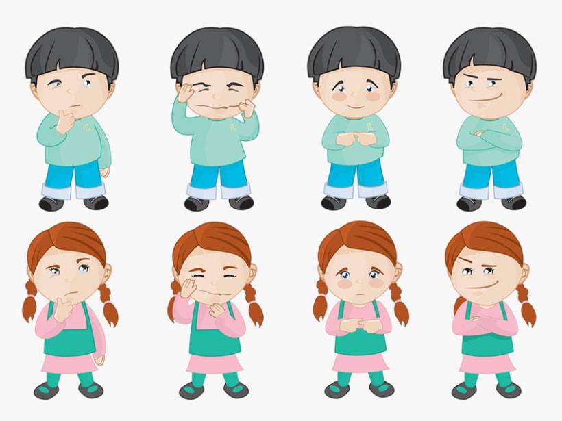 Personajes para ¡Mejor Así! 2