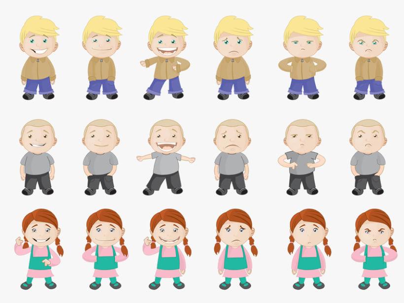 Personajes para ¡Mejor Así! 5