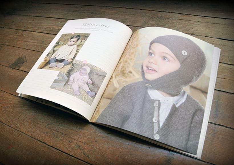 """Bonnet à Pompon"" Maquetación de Catálogo 7"