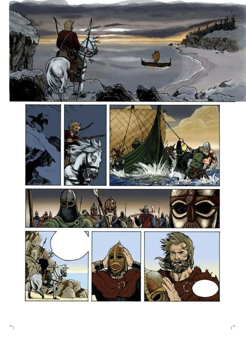 Illustration&Comic book Colorist 9