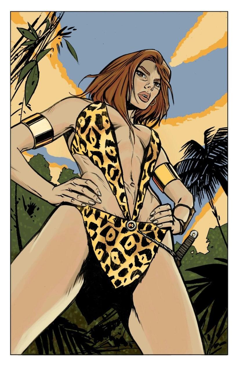 Illustration&Comic book Colorist 8