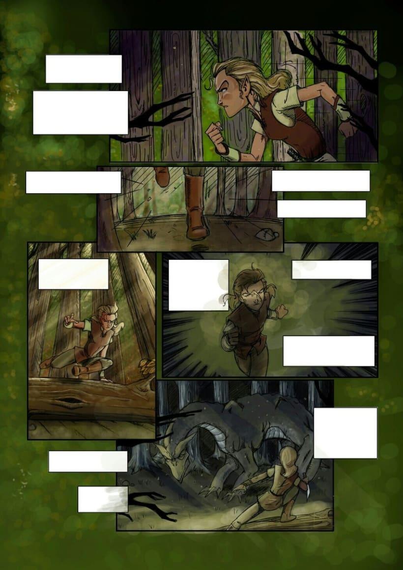 Illustration&Comic book Colorist 5