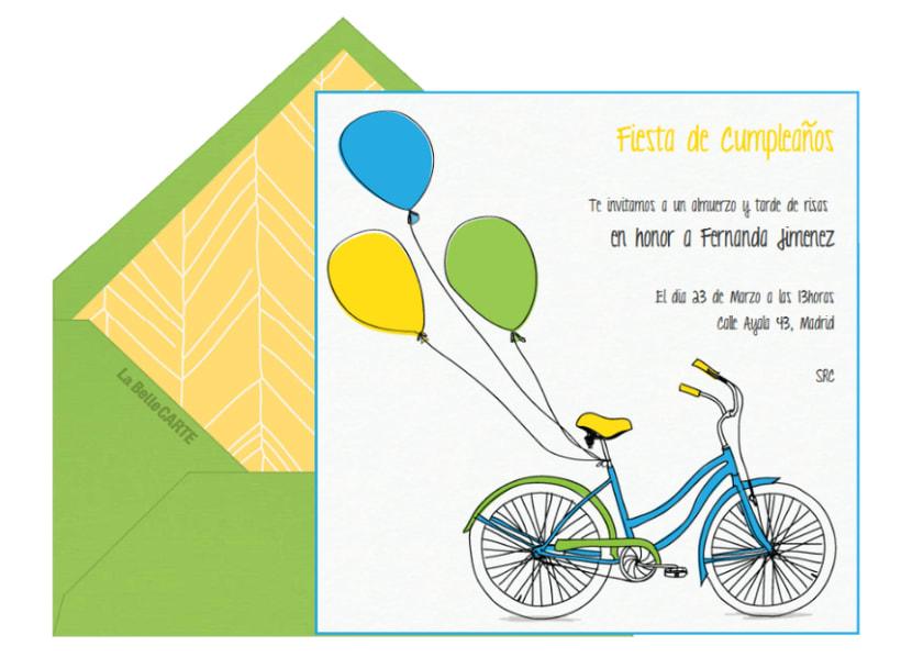 Invitaciones Infantiles 9