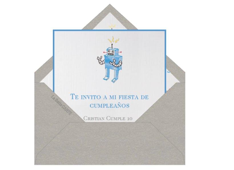 Invitaciones Infantiles 5