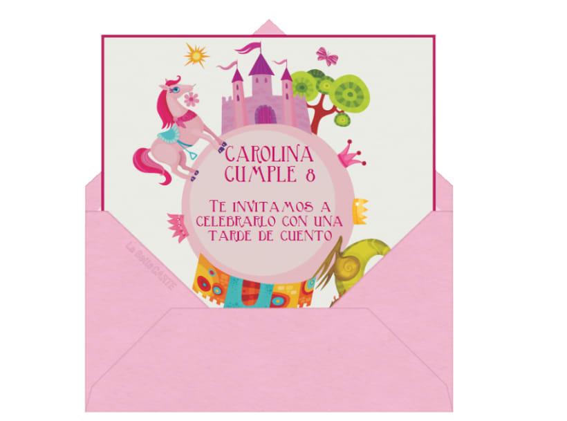 Invitaciones Infantiles Domestika