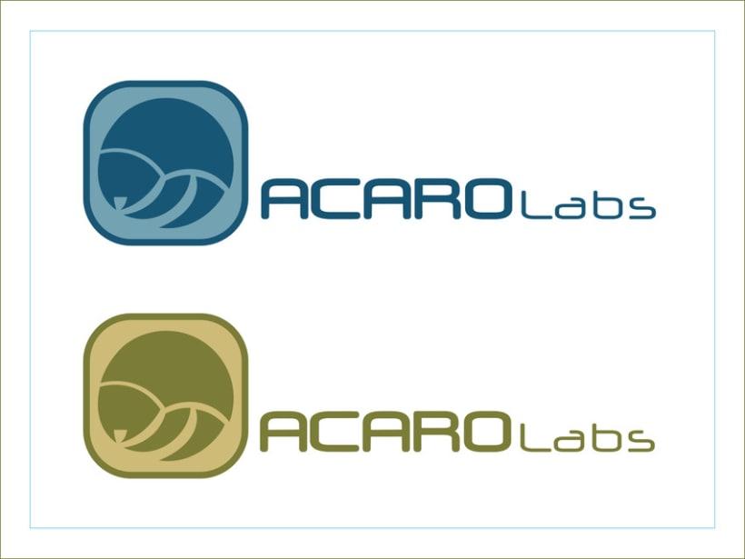 Logotipo AcaroLabs 3