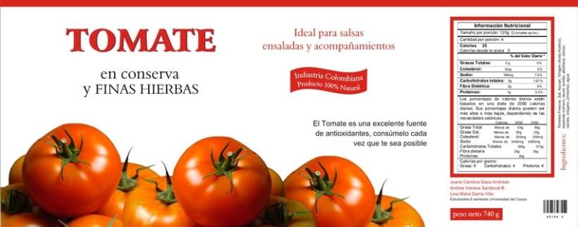 Tomate en Finas Hierbas  1