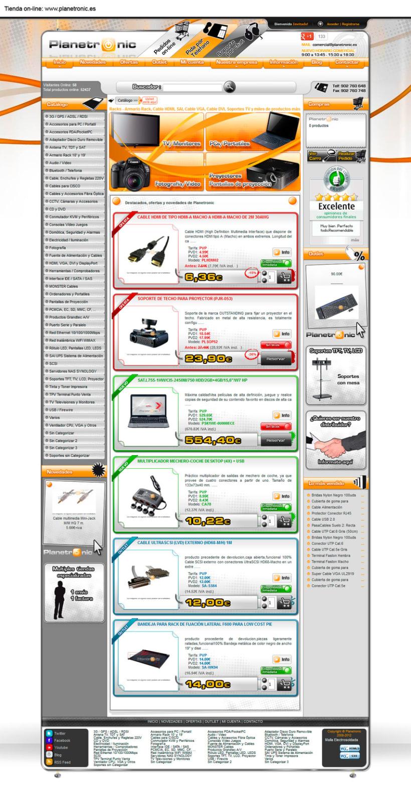 Otras tiendas on-line realizadas con oscommerce 3