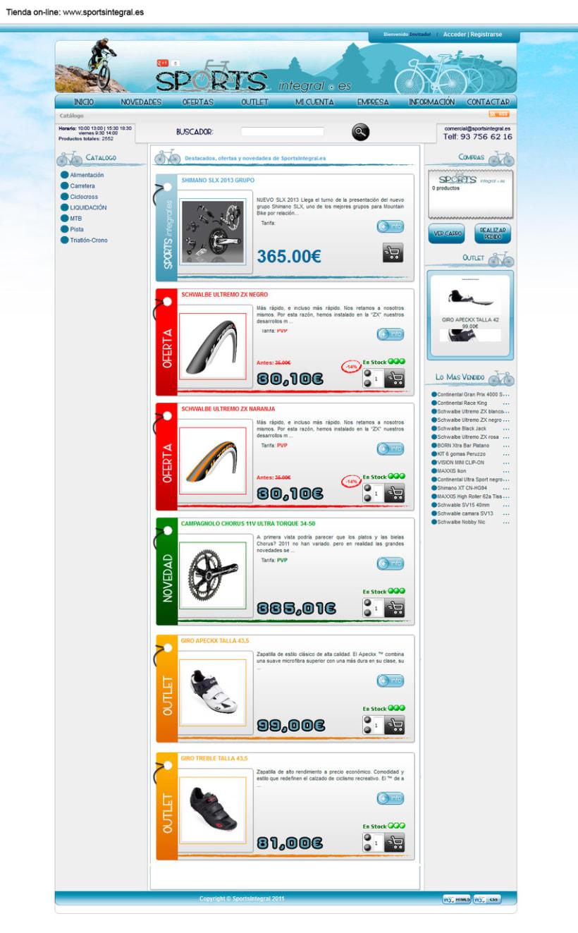 Otras tiendas on-line realizadas con oscommerce 2