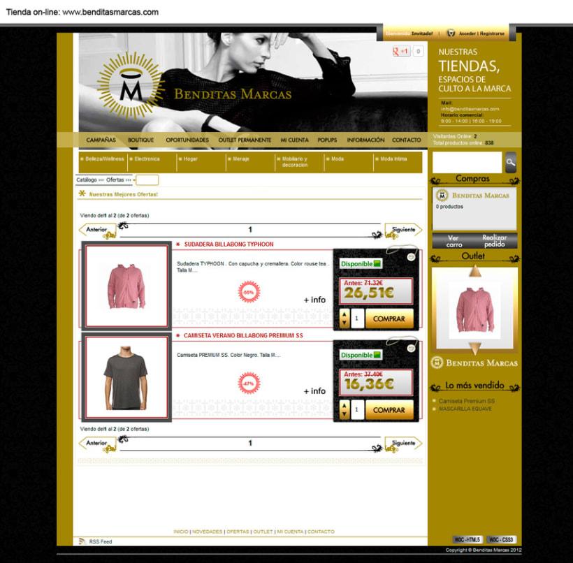 Otras tiendas on-line realizadas con oscommerce 1