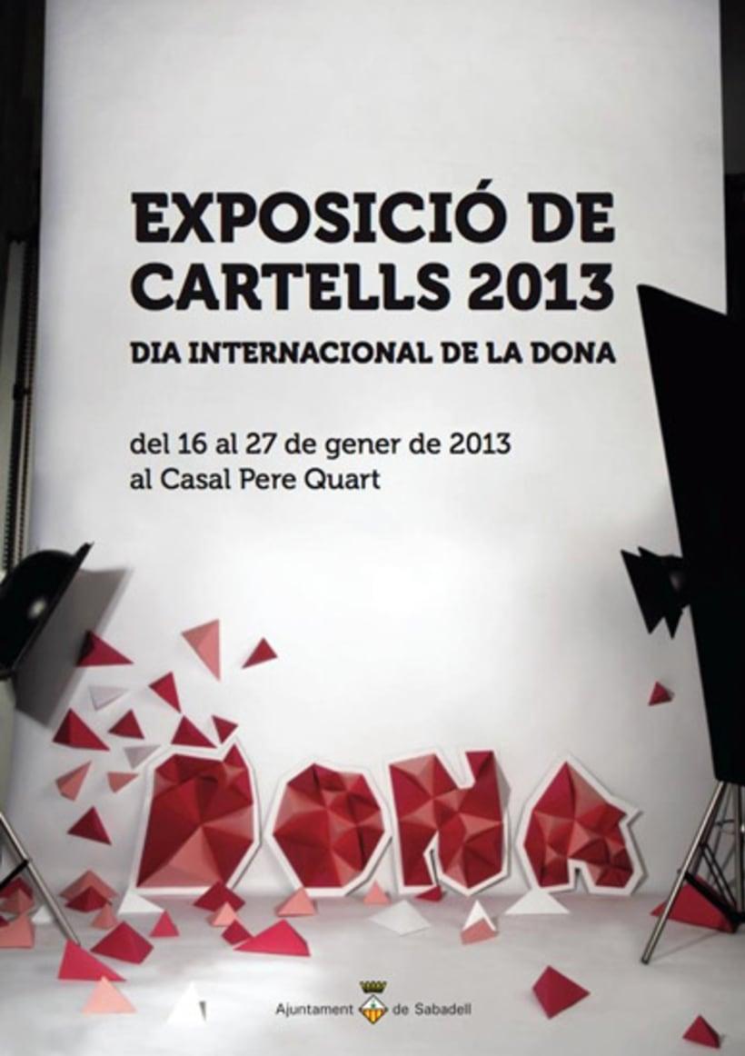 Expo Cartel Dia de la Dona 2