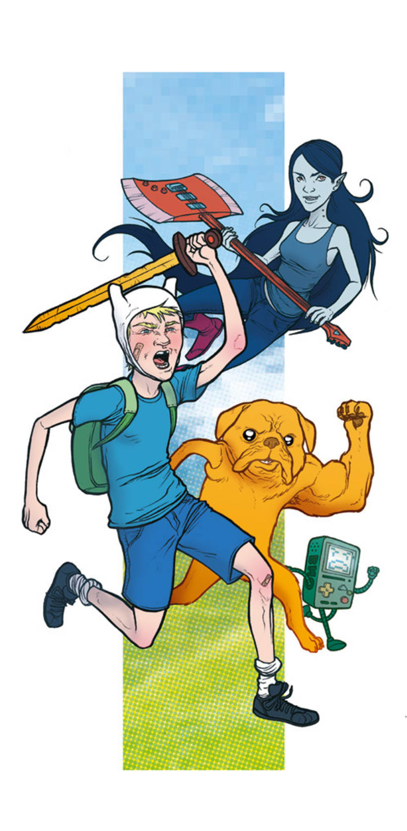 Adventure Time, 2 coloreados 2