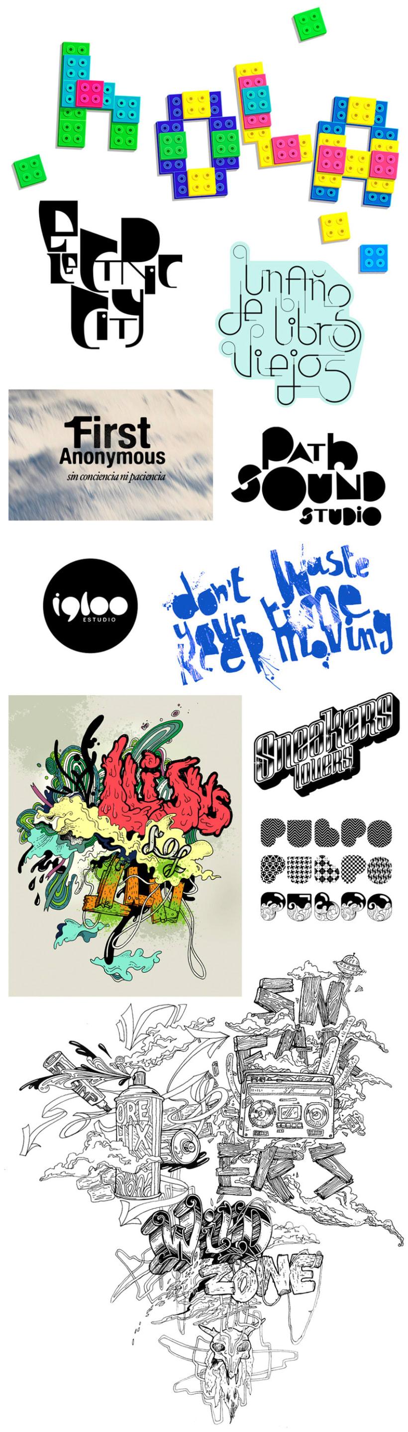 tipos y logos 1