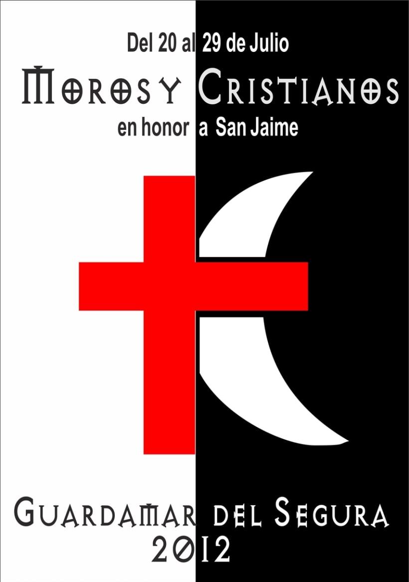 Cartel moros y cristianos 2