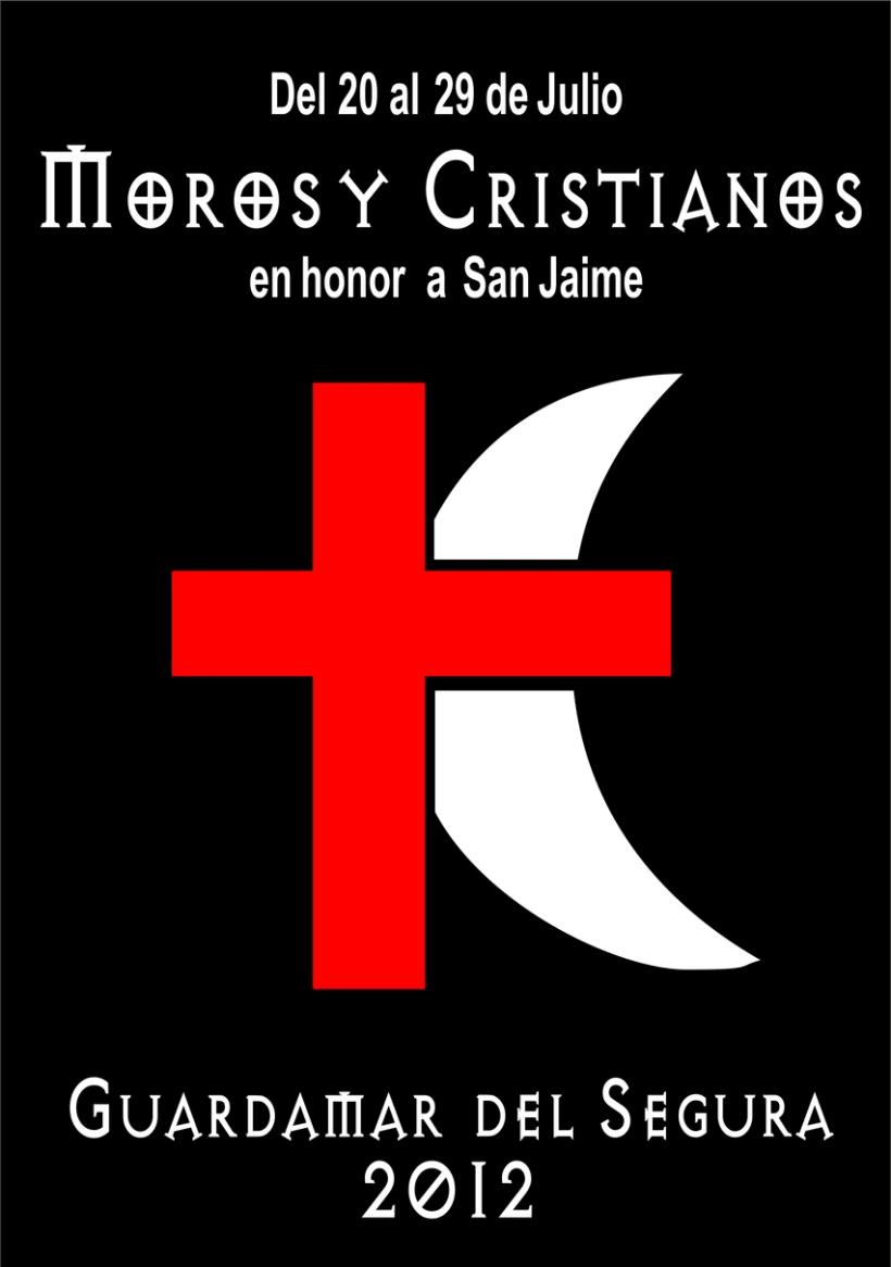 Cartel moros y cristianos 1